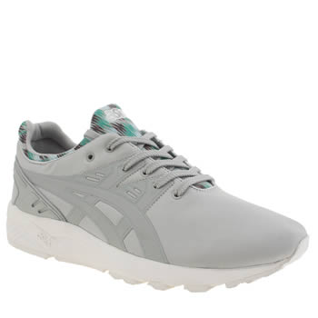Asics Grey Gel Kayano Mens Trainers
