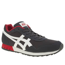 Asics Navy & White Curreo Mens Trainers