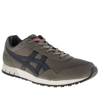 Mens Onitsuka Tiger Dark Grey Tiger Curreo Trainers