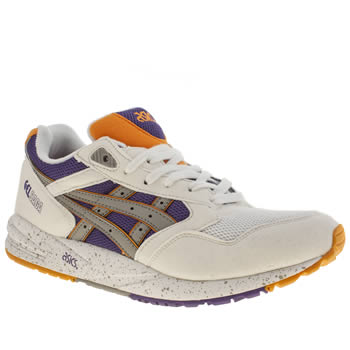 mens asics multi gel saga trainers