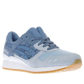 Asics Blue Gel-Lyte Iii Mens Trainers