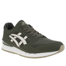 Asics Dark Green Gel Atlanis Mens Trainers