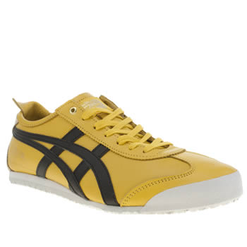 Mens Onitsuka Tiger Yellow Mexico 66 Trainers