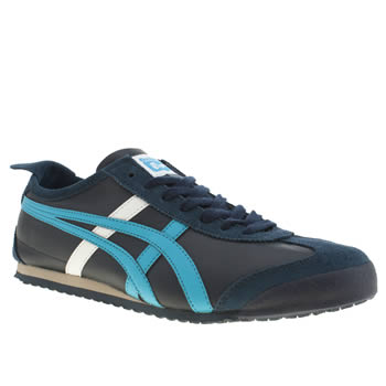 Mens Onitsuka Tiger Navy Mexico 66 Trainers