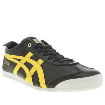 Mens Onitsuka Tiger Black Tiger Mexico 66 Trainers