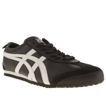 Onitsuka Tiger Black & White Mexico 66 Trainers
