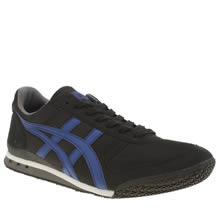 Onitsuka Tiger Black and blue Ultimate 81 Mens Trainers
