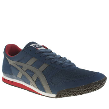 Mens Onitsuka Tiger Blue Ultimate 81 Trainers