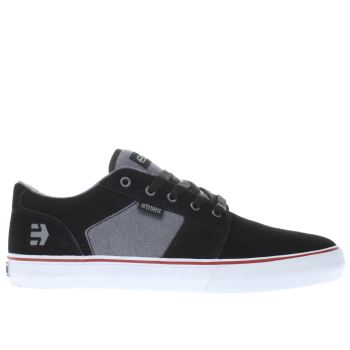 Etnies Black Barge Ls Mens Trainers