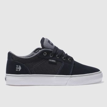 Etnies Navy Barge Ls Mens Trainers