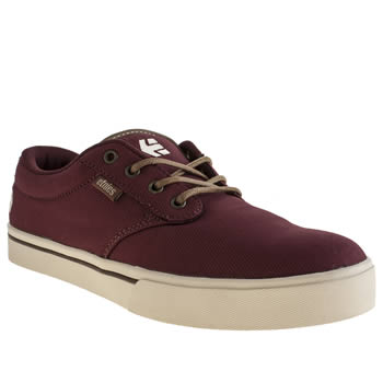 Etnies Burgundy Jameson 2 Eco Trainers