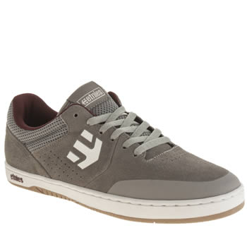 Mens Etnies Grey Marana Trainers