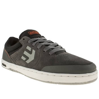 mens etnies grey & black marana trainers