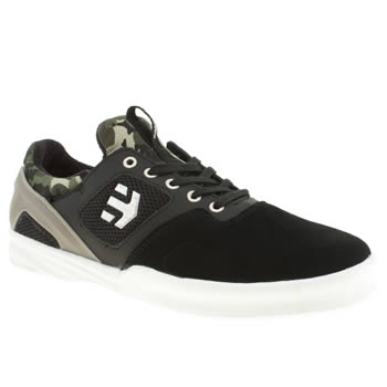 Etnies Black & Green Highlight Trainers