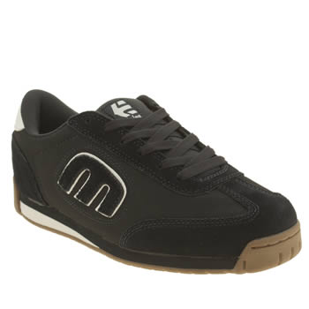 Mens Etnies Navy Lo Cut Ls Trainers