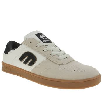 Etnies White & Navy Lo-cut Trainers