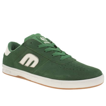 Etnies Green Lo Cut Trainers