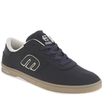Mens Etnies Navy Lo Cut Trainers