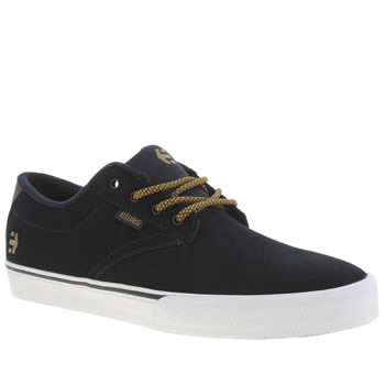Etnies Navy Jameson Vulc Trainers