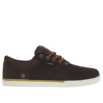 Etnies Brown Jefferson Mens Trainers
