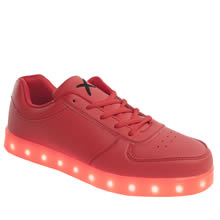 Wize & Ope Red The Light Mens Trainers