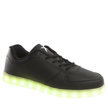 Wize & Ope Black The Light Led Trainers