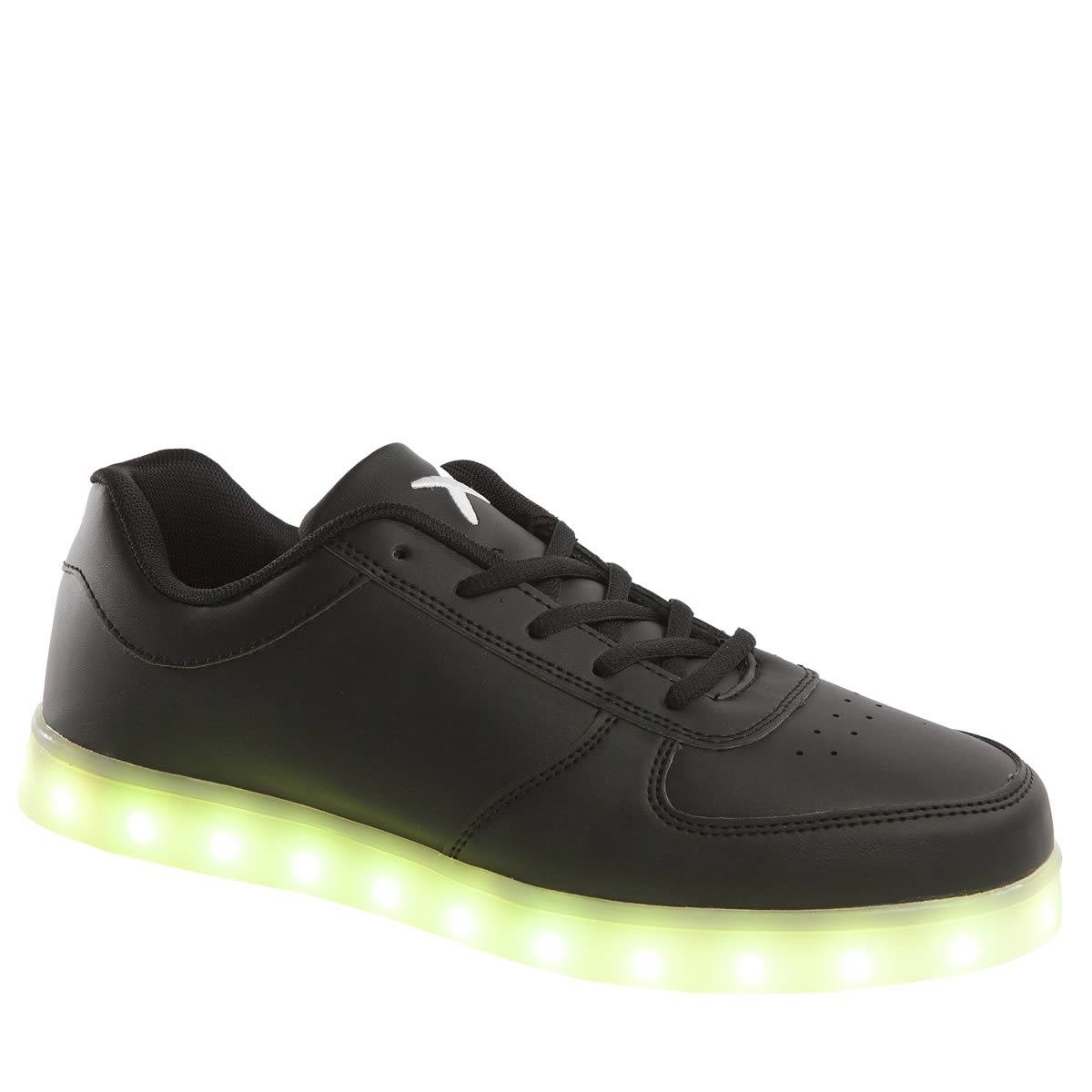 wize & ope Wize & Ope Black The Light Led Trainers
