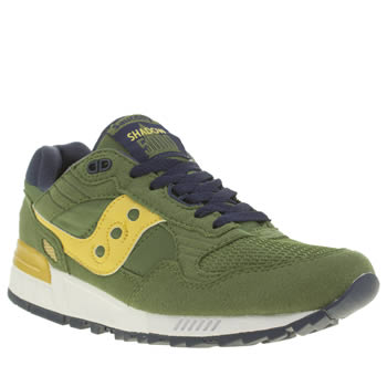 Saucony Green Shadow 5000 Trainers