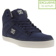 Blue Dc Shoes Spartan High Tx