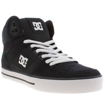 Dc Shoes Navy Spartan High Wc Trainers