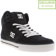 Navy Dc Shoes Spartan High Wc