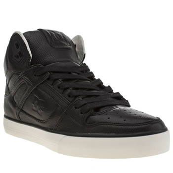 Mens Dc Shoes Black Spartan High Wc Trainers