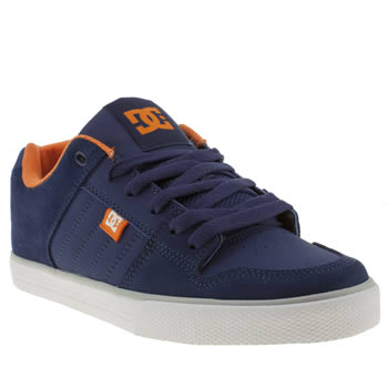 Dc Shoes Blue Course Trainers