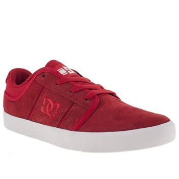 Mens Dc Shoes Red Rd Grand Trainers