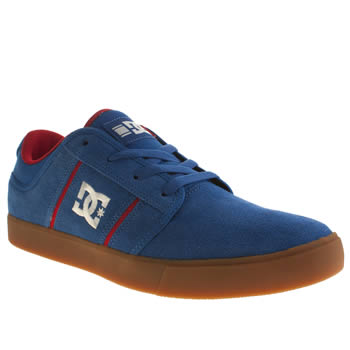 Mens Dc Shoes Blue Rob Dyrdek Grand Trainers
