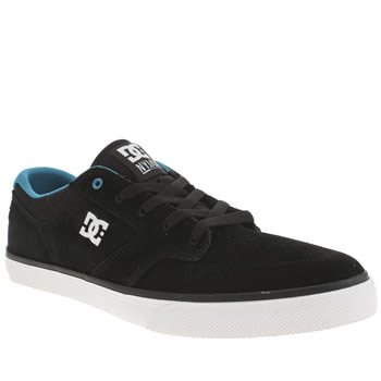 Dc Shoes Black and blue Nyjah Vulc Trainers