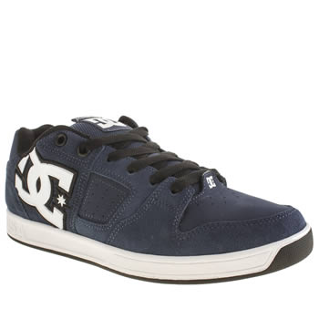 Dc Shoes Navy Sceptor Sd Trainers