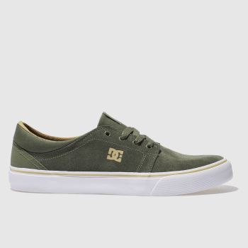 Dc Shoes Khaki Trase Sd Mens Trainers