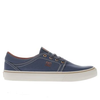 Dc Shoes Navy Trase Tx Mens Trainers