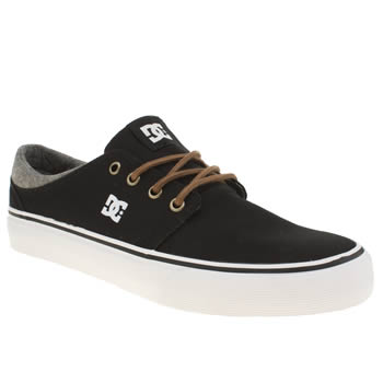 Dc Shoes Black & Grey Trase Tx Se Trainers
