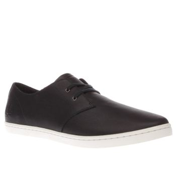 Fred Perry Navy Byron Low Mens Trainers