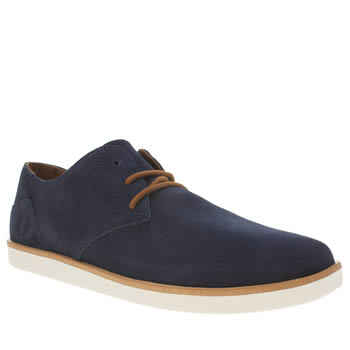Mens Fred Perry Navy Hewitt Trainers