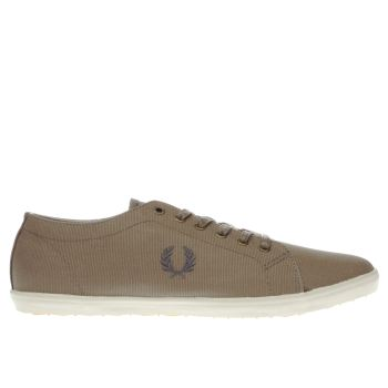 FRED PERRY KHAKI KINGSTON TRAINERS