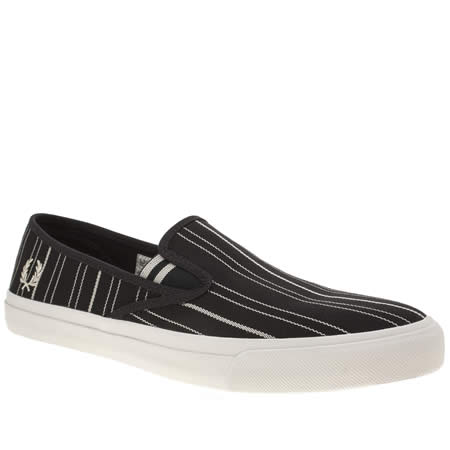 fred perry turner slip on retro stripe 1