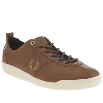 Mens Fred Perry Brown Stockport Trainers