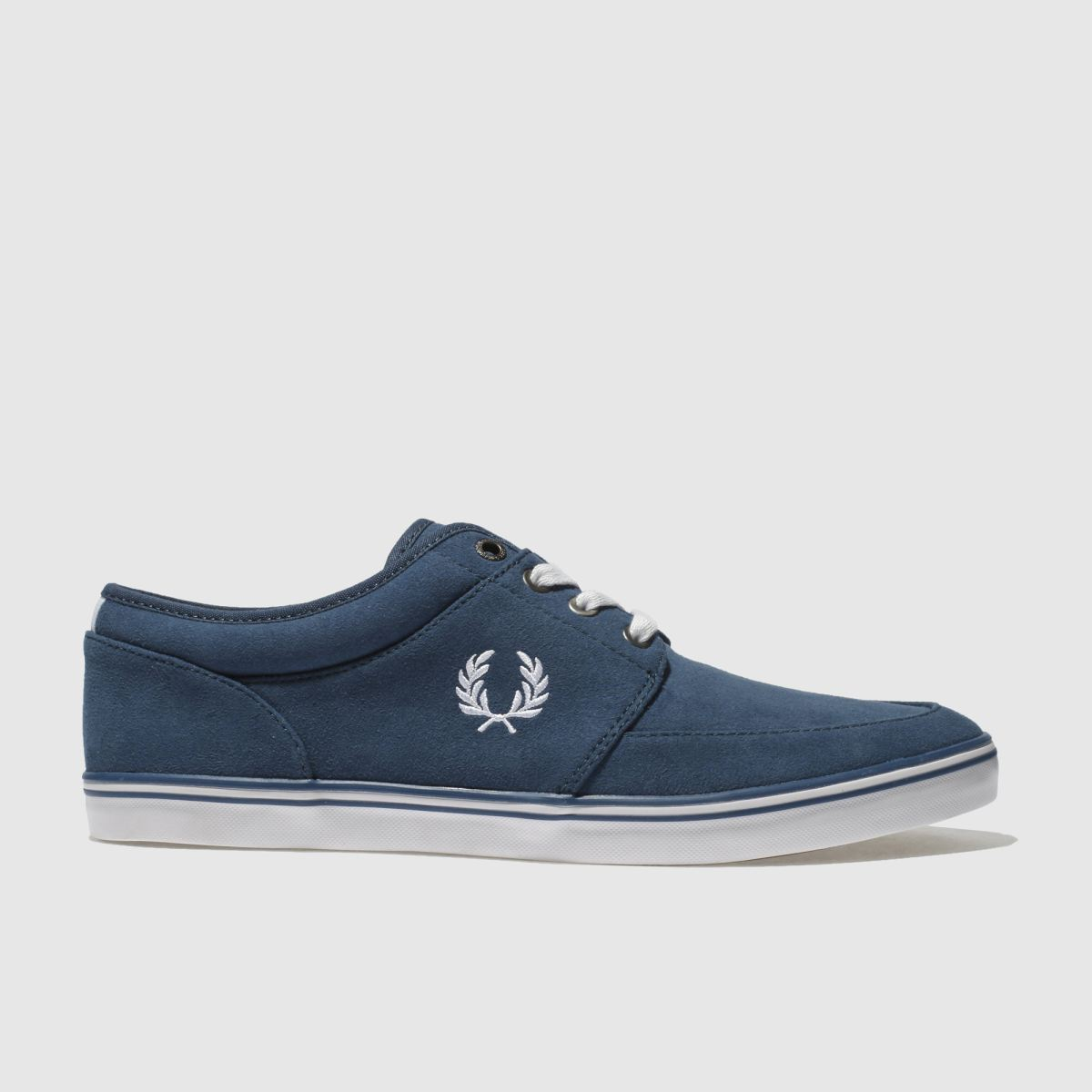 Fred Perry Blue Stratford Trainers