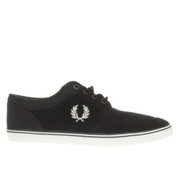 Fred Perry Black Stratford Trainers