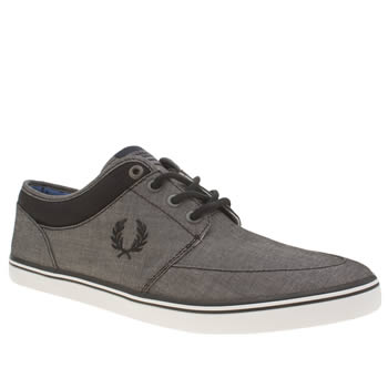 Fred Perry Grey Stratford Trainers