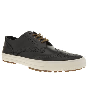 Mens Fred Perry Navy Ashton Leather Trainers