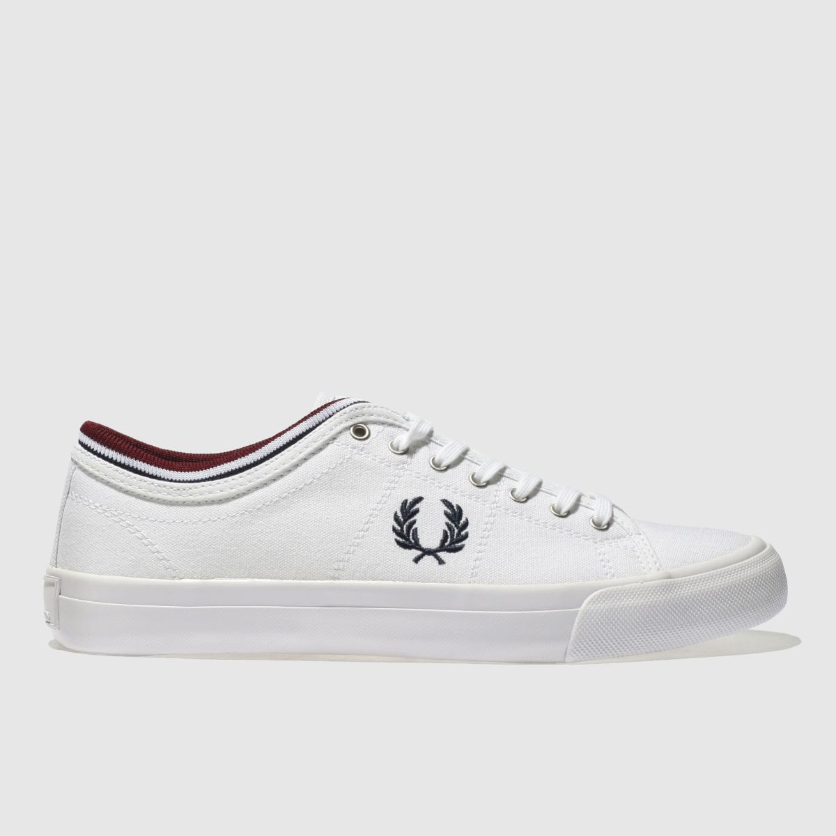 Fred Perry White Kendrick Tipp Trainers
